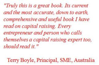 How to Raise Money Quote - Terry Boyle
